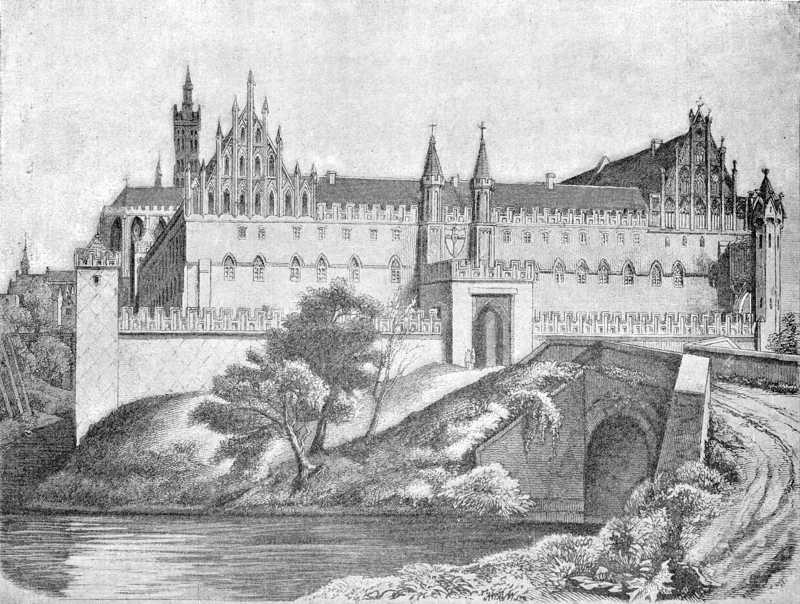 [1900 р.] Північний бік середнього замку
