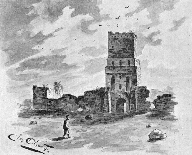 [1900 р.] Загальний вигляд руїн