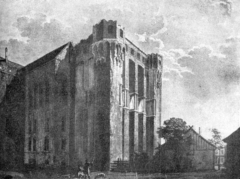 [1900 р.] Костел у замку