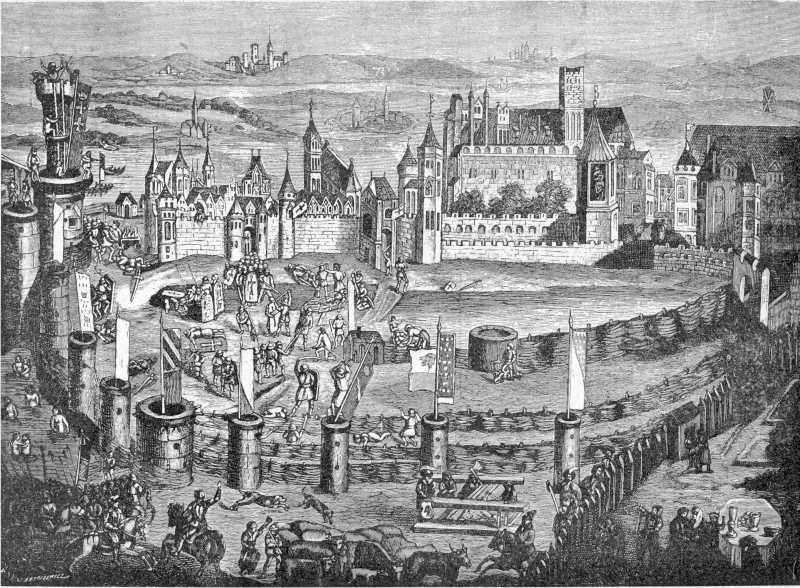1460 р. Облога Мальборга