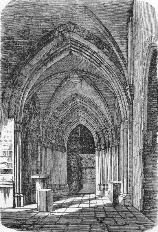 [1900 р.] Портал Золотої каплиці в замку