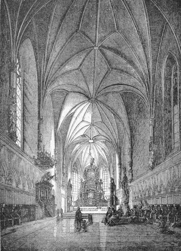 [1900 р.] Інтер'єр замкового костелу