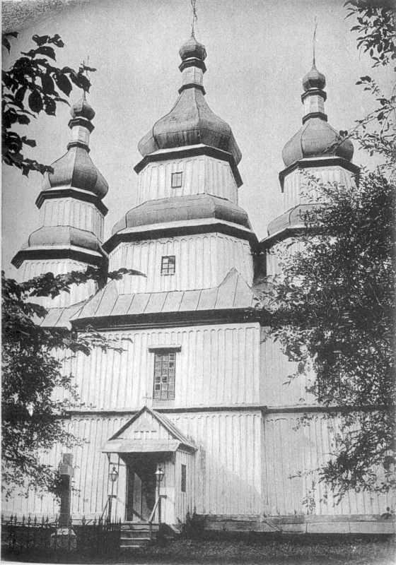 Церква у с.Чемериси Волоські Могилівського повіту