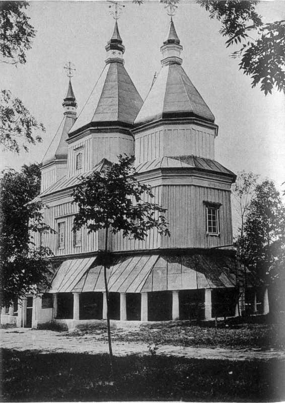 Церква у с.Дашківці Ушицького повіту