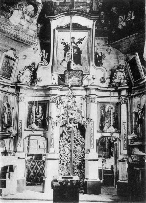 Іконостас церкви у с.Печанівка