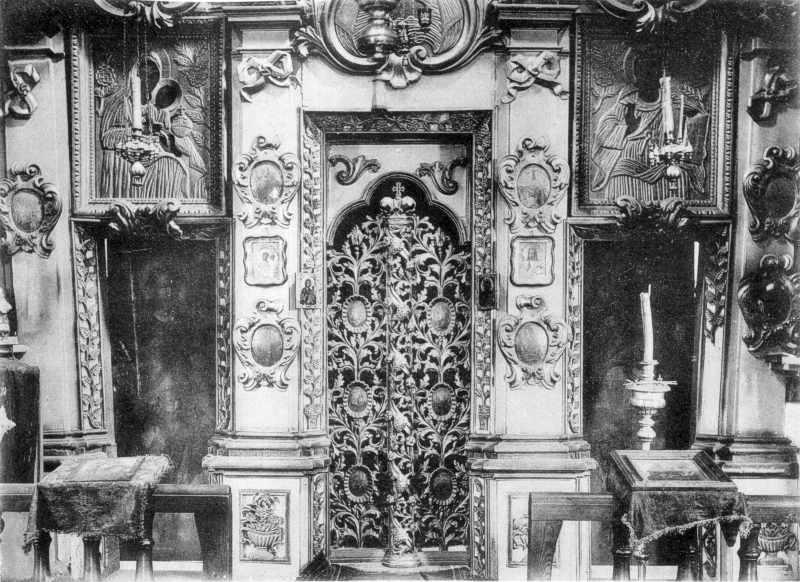 Іконостас Петропавлівської церкви у…