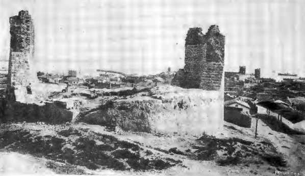 [1913 р.] Руїни генуезьких укріплень