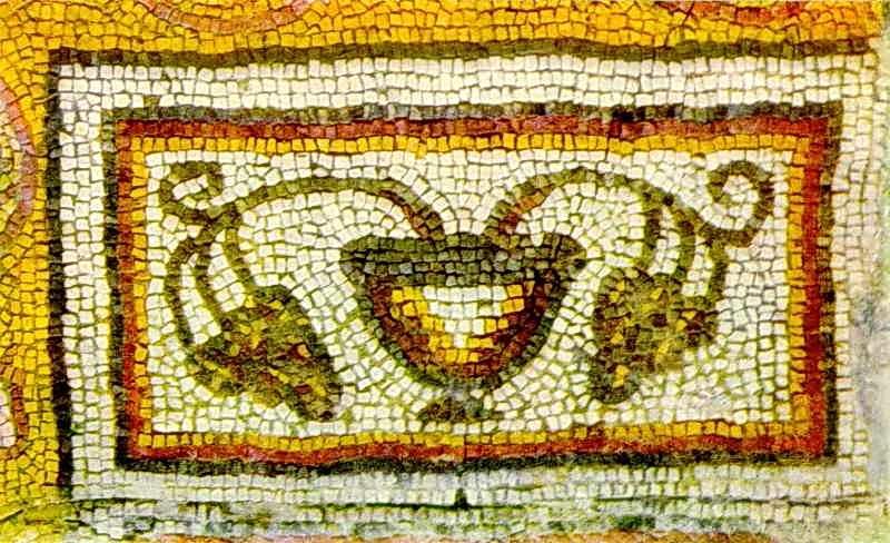 Фрагмент мозаїчної підлоги