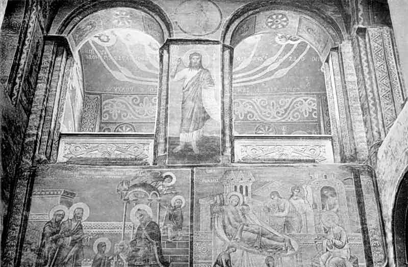 Фрагмент західної стіни центральної нави