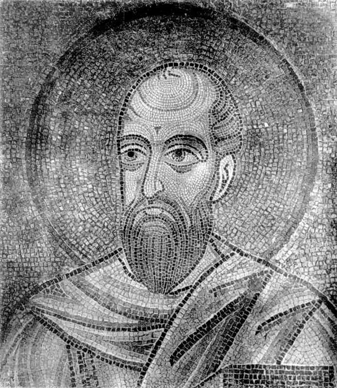 Апостол Павло. Мозаїка
