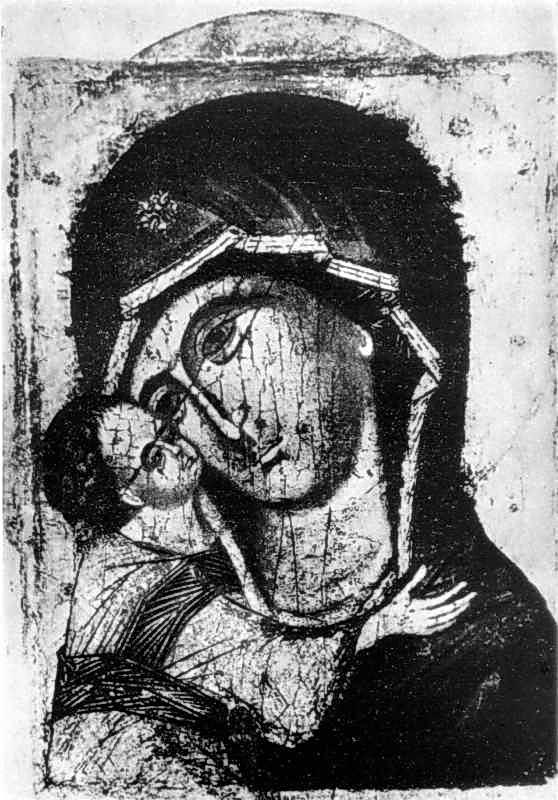 Ігорівська богоматір. Ікона 13 ст.