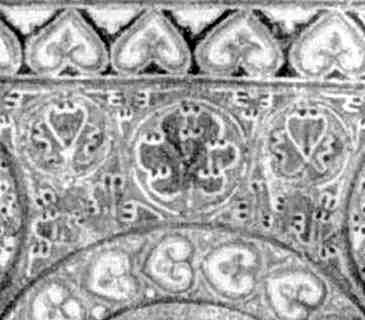 Цнтральна частина орнаменту