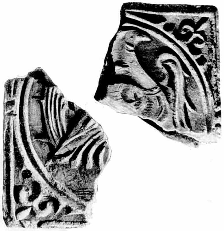 Керамічна плитка з зображенням павича