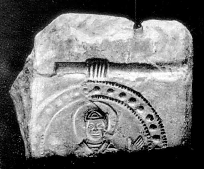 Фрагмент ливарної форми