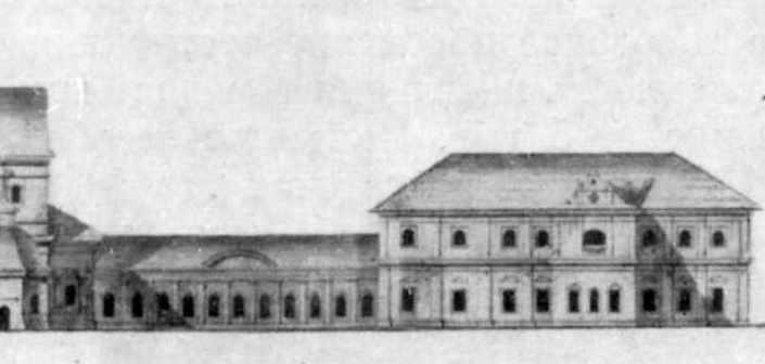 Корпус настоятеля. Північний фасад