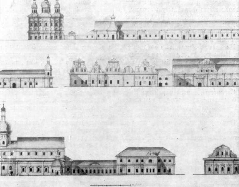 Здания Киево-Печерской лавры…