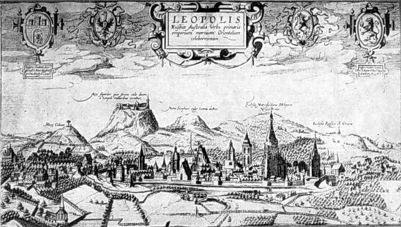 1618 р. Панорама міста (фотокопія)