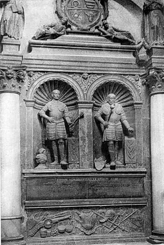 Надгробок Яна і Станіслава Жолкевських