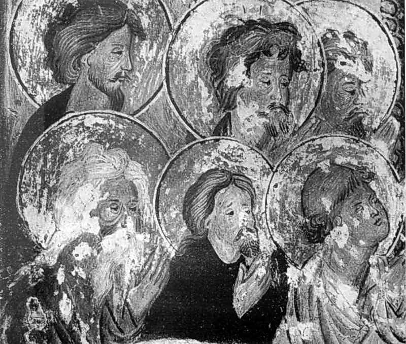 Євхаристія. Ліва частина