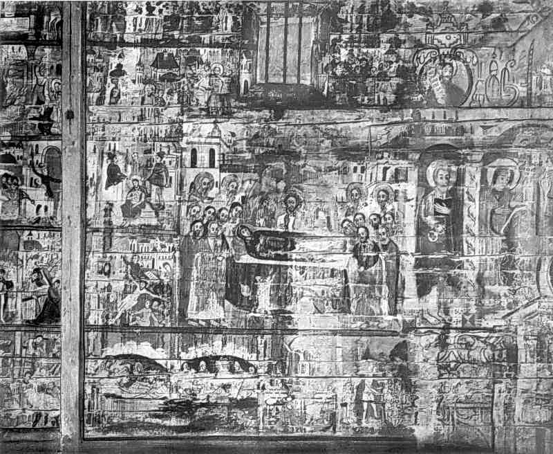 Розписи північної стіни