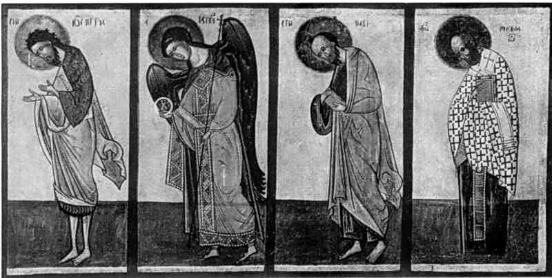 Деісус (права частина). Ікона 15 ст.