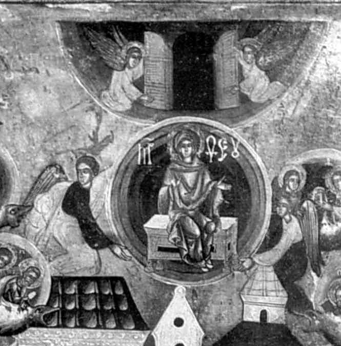 Ангели несуть душу Марії до раю