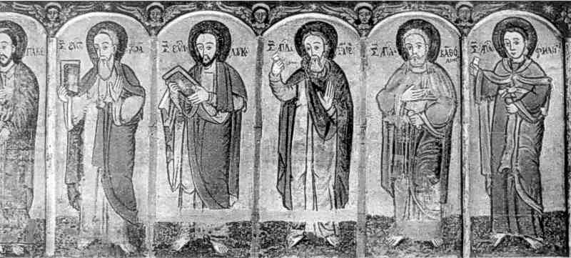 Апостоли. Ікона кін. 16 - поч. 17 ст.