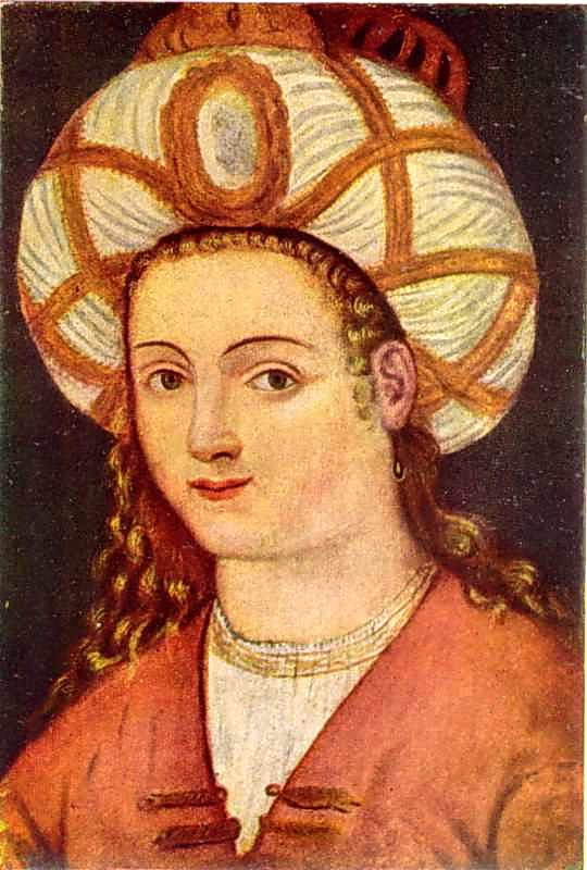 Портрет Роксолани. Кін. 16 – поч. 17 ст.