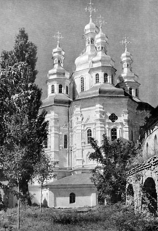 Церква на Економічній брамі Києво-Печерської лаври. 1696-1698 рр.