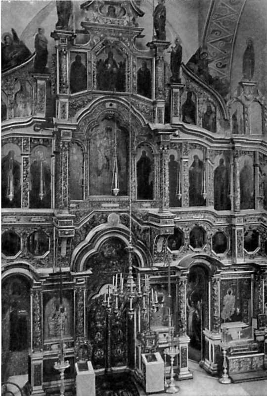 Іконостас собору Юрія Видубицького монастиря. 1696-1701 рр.
