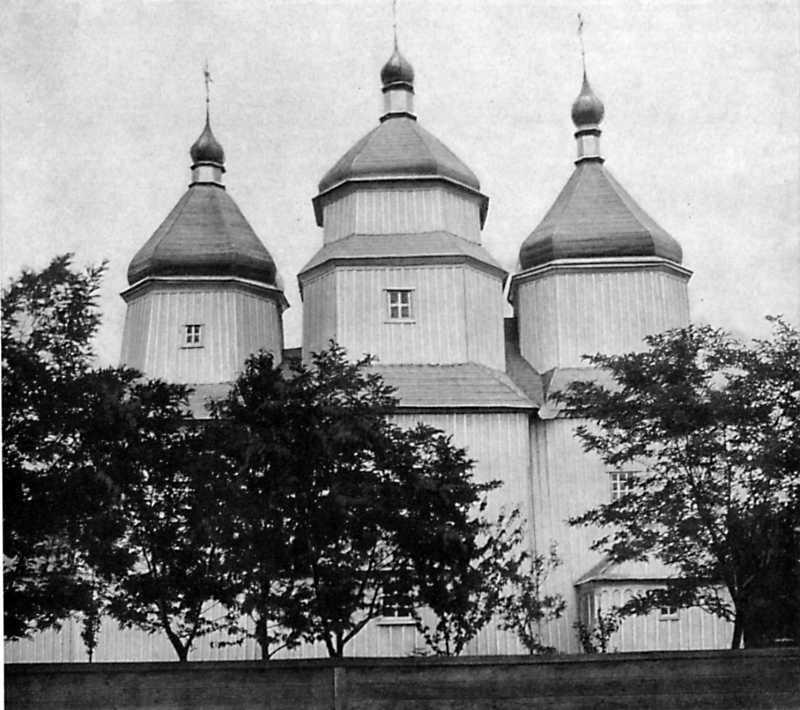 Церква Параскеви в Росошках. 1762 р.