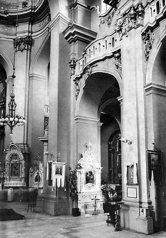 Інтер'єр собору Юра у Львові
