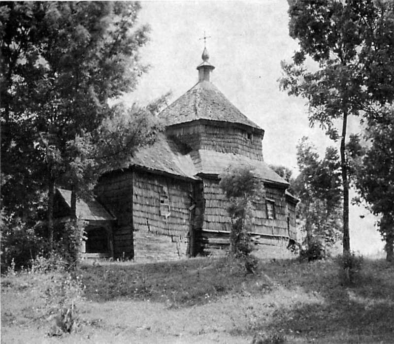 Церква Параскеви в Буську. 1709 р.