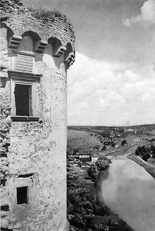 Замок в Кам'янці-Подільському. Фрагмент башти