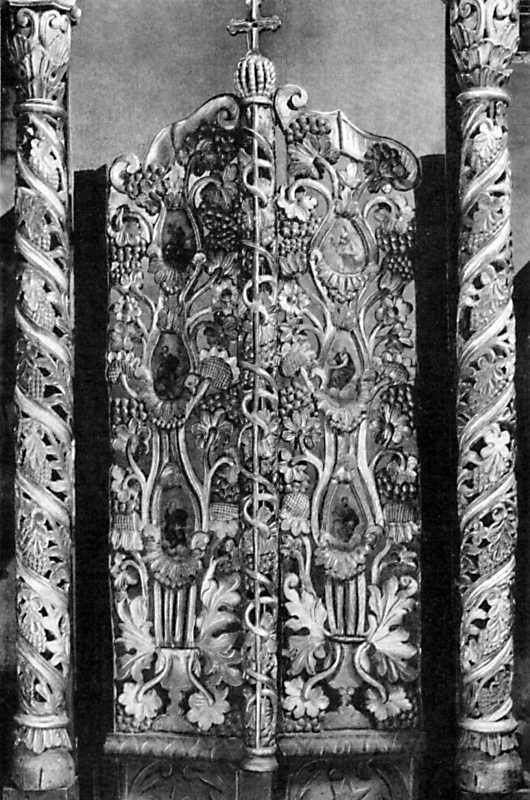 Деталь іконостаса Михайлівської церкви…