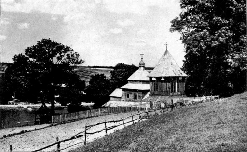 Дзвіниця церкви св. Духа. Вид з півд.…