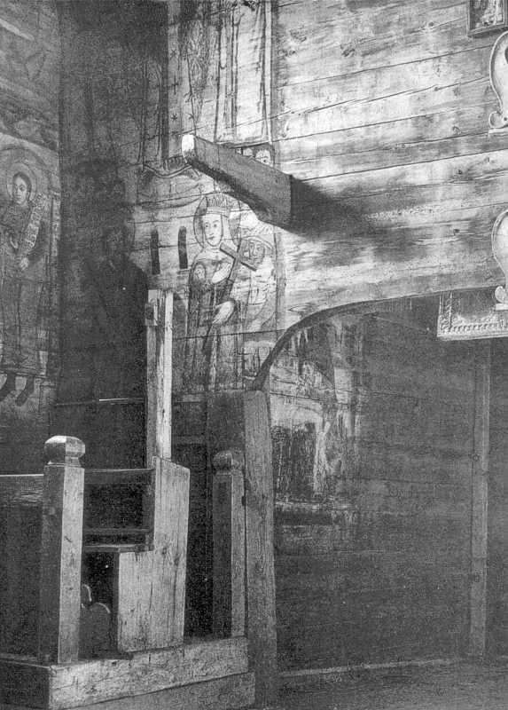Інтер'єр церкви св. Духа