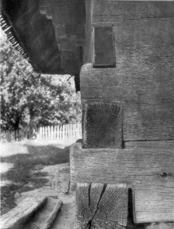 [1970 р.] Стіни в зруб з брусків