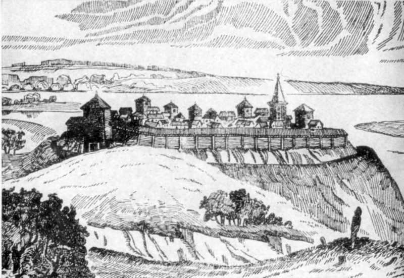 Городище літописного міста Родня