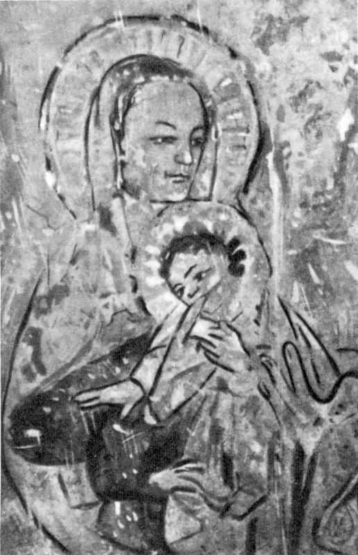 Фрагмент фрески «Бегство в Египет».…