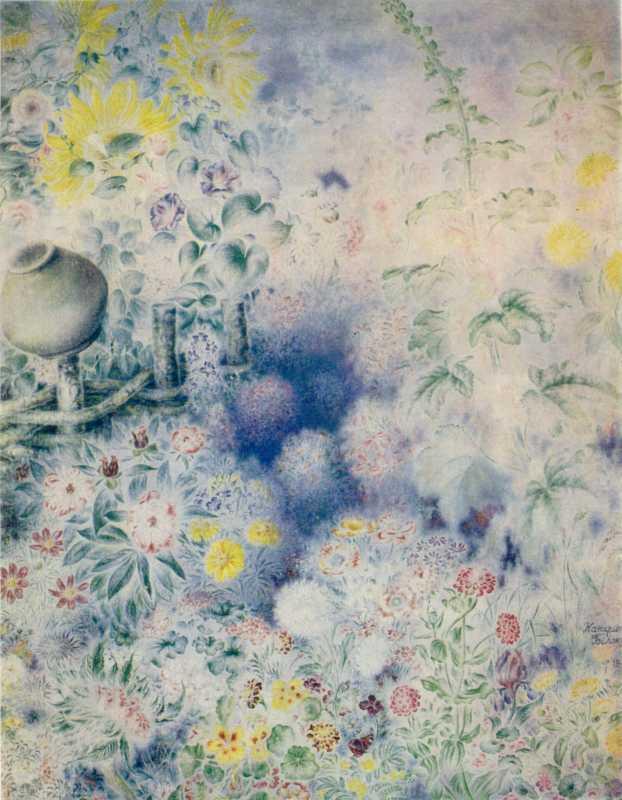 Білокур К.В. Квіти в тумані