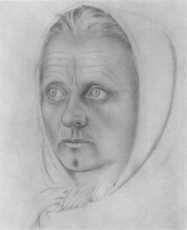 Білокур К.В. Портрет жінки