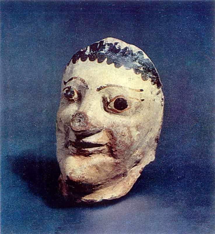 Фрагмент голови людини