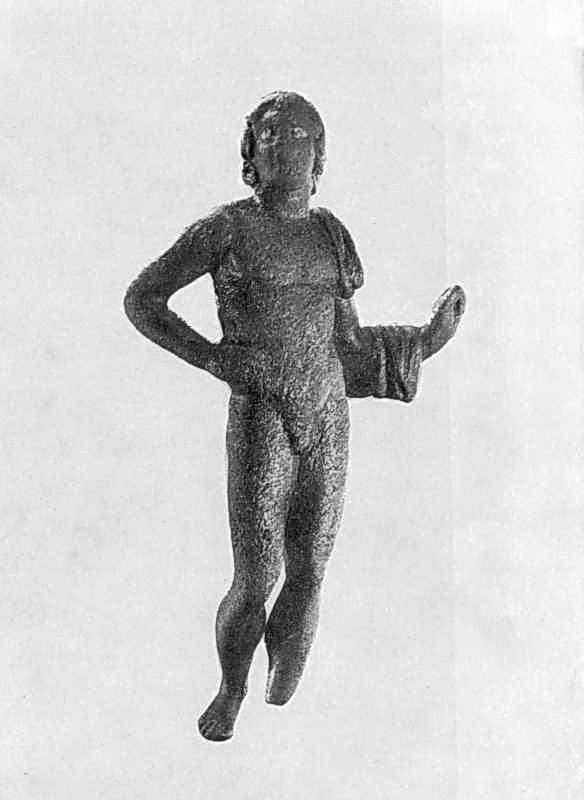 Статуетка одного з Діоскурів