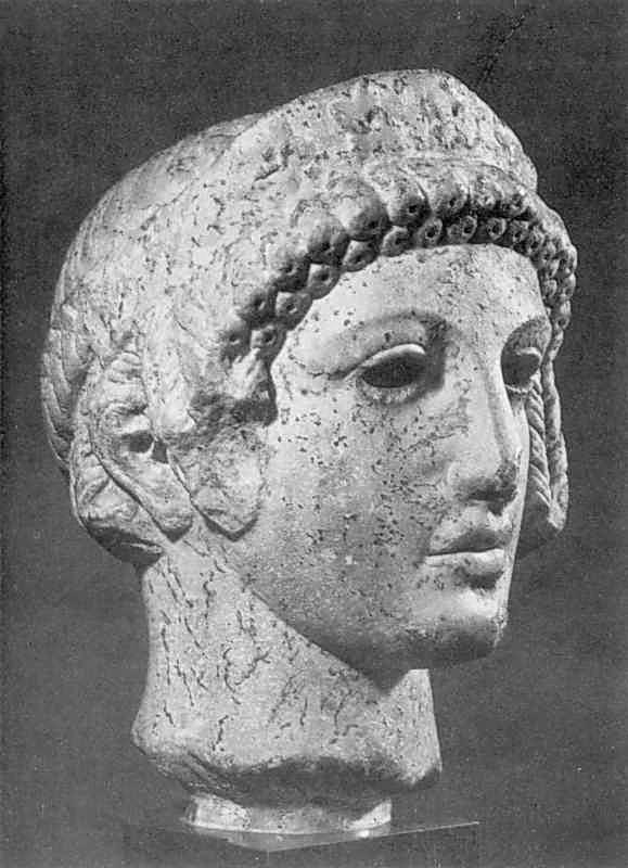 Голова богині