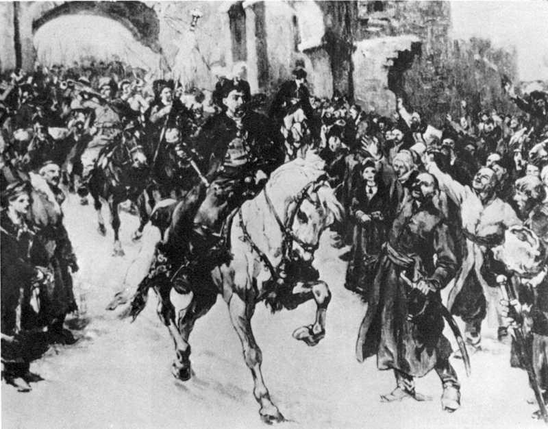 Самокиш М.С. В'їзд Богдана Хмельницького у Київ 1648 p.