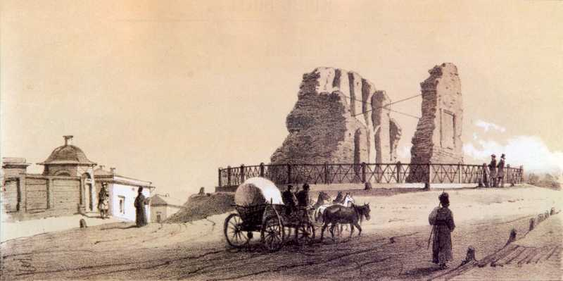 1858 р. Загальний вигляд з півночі