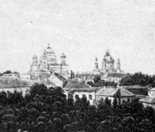 Десятинна і Андріївська церкви