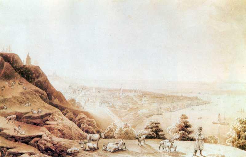 [1853 р.] Схили Дніпра