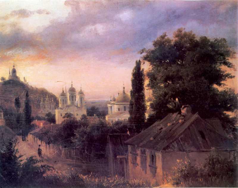 1837 р. Перспектива Боричевого Току